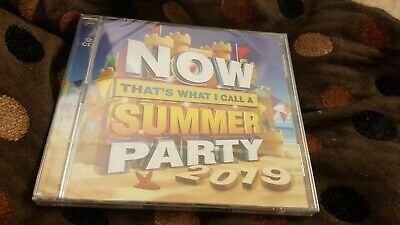 Now That's What I Call Music : Summer Party 2019 (2CD's 42 tracks) NEW & SEALED