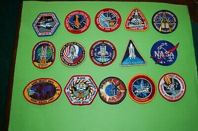 NASA - Apollo Space Programe Patches & First Day Covers.
