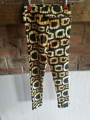 LuLaRoe Lot of 2 Kids Leggings S/M Small Medium Halloween