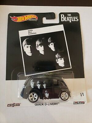 """Hot Wheels 2019 Pop Culture The Beatles """"With the Beatles"""" Quick D-Livery 1/64"""
