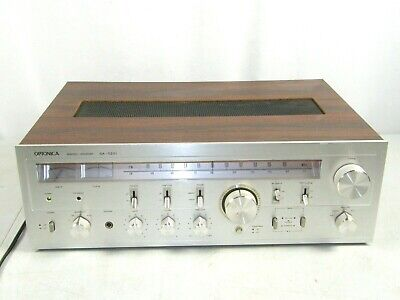 VINTAGE ANALOG Stereo Receiver SHARP/OPTONICA SA-5201