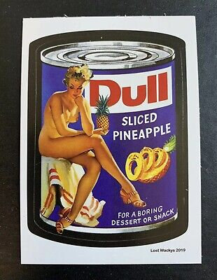 2019 Lost Wacky Packages VARIATION SERIES Nude DULL X
