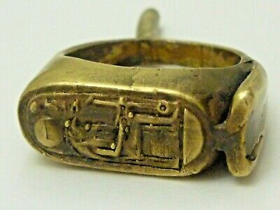 Rare King Tut Egyptian Signet Ring!