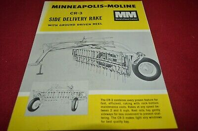 Minneapolis Moline CP-3 Side Delivery Dealer's Brochure AMIL15
