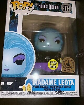 Disney Parks Exclusive Haunted Mansion 50th Anniversary Funko Pop Madame Leota