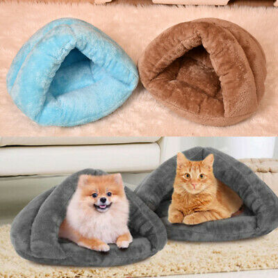 Pet Dog Cat Bed Puppy Cushion House  Soft Warm Kennel Cave Mat Blanket Supply