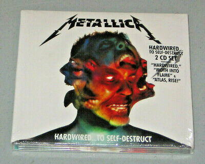 Hardwired...To Self-Destruct [Digipak] by Metallica (CD, 2016, 2 Discs)