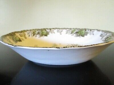 "JOHNSON BROS FRIENDLY VILLAGE 9"" OVAL VEGETABLE BOWL  MADE IN ENGLAND -VGC  set2"