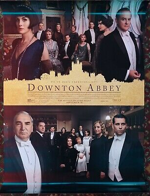 DOWNTON ABBEY Original Movie Poster 27x40 2-Sided Authentic Final Version