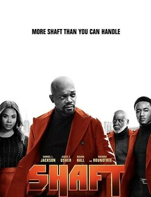 Shaft DVD Only 2019 Preorder Ships 9/24/19 No Case