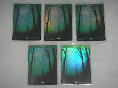 Magic the Gathering Unstable Foil Basic Land Forest