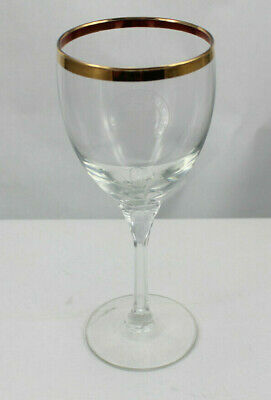 US House of Representatives Gold Plated Drinking Glass Clear Congress USA Water