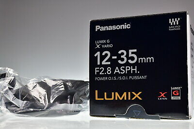 Panasonic Lumix G X Vario 12-35mm f/2.8 Power O.I.S. ASPH. H-HS12035 Excellent