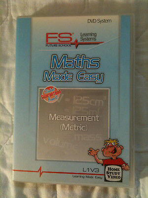 Maths Made Easy DVD Measurement (Metric) education home learning