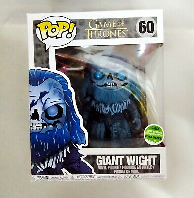 """Funko Pop! Tv : Game Of Thrones - Giant Wight 6"""" # 2018 Spring Con Excl . Nice!"""