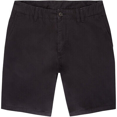 ONeill Friday Night Chino Shorts in Black Out