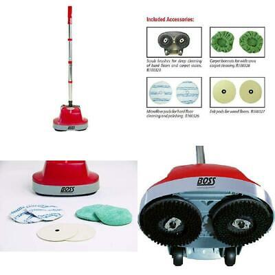 B200752 Gloss Boss Mini Floor Scrubber Tile, Wood, Stone Boss Cleaning Equipment