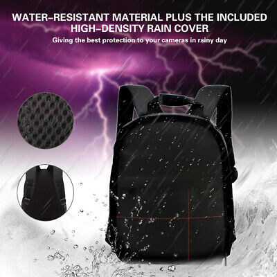 EE_ ND_ Outdoor Nylon Waterproof DSLR Camera Backpack Container for Nikon Canon