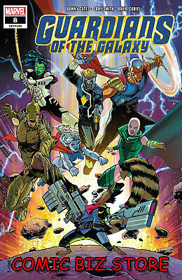 Guardians Of The Galaxy #8 (2019) 1St Printing Mark Henderson Main Cover Marvel