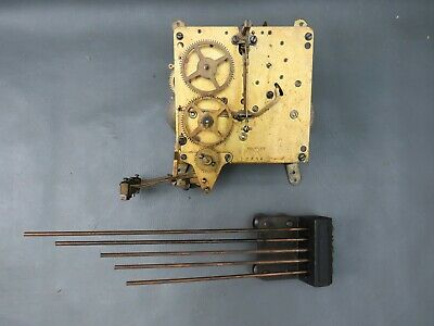 Vintage Kienzle mantel clock movement and chimes for repair or spares