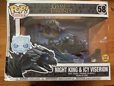 Night King And Icy Viserion Funko Pop! Vinyl Game Of Thrones