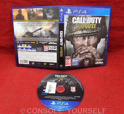 Call Of Duty Wwii - World War 2 - Used - Playstation 4 Ps4 - Uk