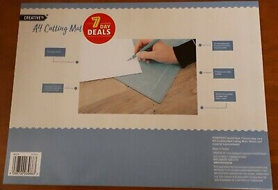Cutting Mat, Double Sided,《A4 》Self Healing, With Grids For Arts & Crafts  New