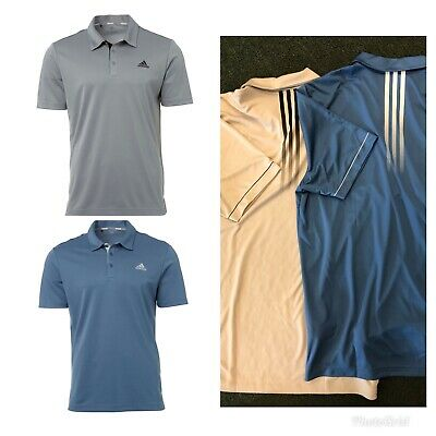 New Adidas Drive Novelty Solid Polo Golf Shirt Multiple Color/Sizes