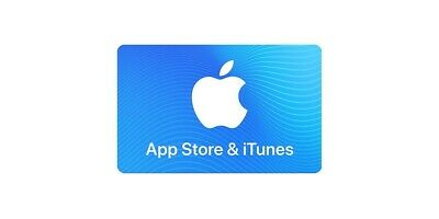 Apple App Store & iTunes $10 Physical Gift Card