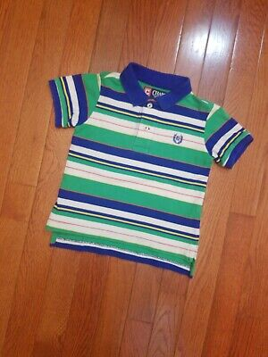 Baby Boy 18 Months Chaps Polo Shirt Short Sleeve Top Boys Size 18 M