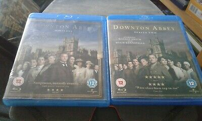 Downton Abbey The Complete Series 1 & 2 Blu-Ray Box Sets