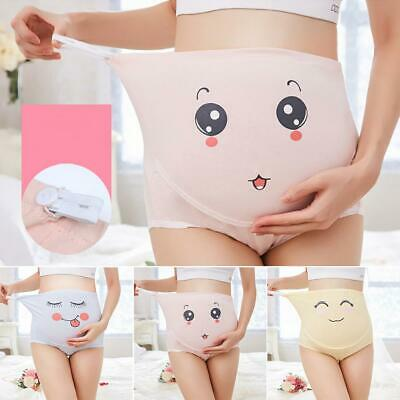 UK Women Pregnancy Maternity Panties Cotton High-waist Briefs Underwear Knickers