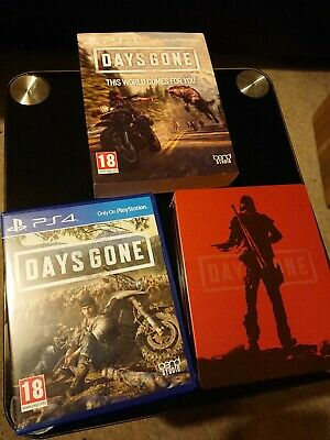 Days Gone with Limited Edition SteelBook PS4