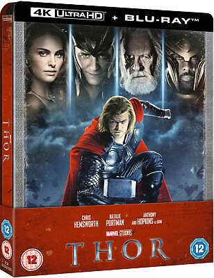 THOR : 4K Ultra HD + BLU RAY ( STEELBOOK - UK LIMITED EDITION) MARVEL, PRE-ORDER
