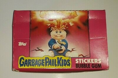 1985 Garbage Secchio Bambini Serie 1 OS1 - Completo Scatola W/48 Sealed Pack- UK