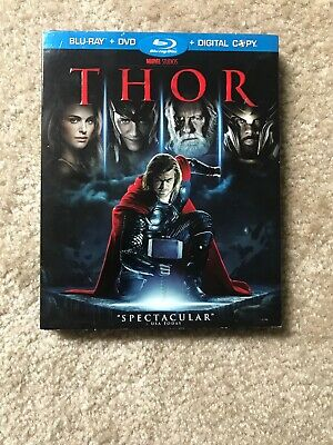 Thor with Slipcover (2011, Bluray ONLY)
