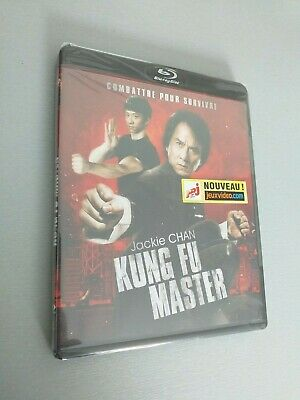 Bluray Kung Fu Master Neuf Blister Jackie Chan Art Martiaux Combat Film Action