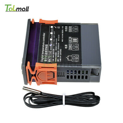 WH7016C Automatic Digital Temperature Controller Thermostat DC12V Control Switch