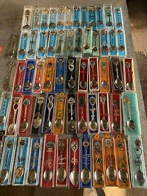 Spoon Collection For Sale - 92 Pieces