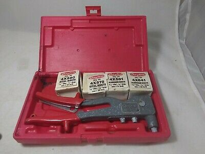 Dayton Deluxe Rivet Tool Kit With Rivets 6A644
