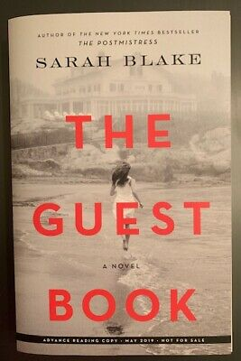 By Sarah Blake: The Guest Book: A Novel, Paperback – Advance Reading Copy (ARC)