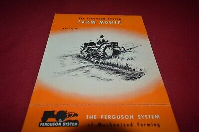 Ferguson Tractor Farm Mower Dealer's Brochure AMIL15