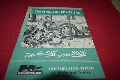 Ferguson Tractor Power Saw Dealer's Brochure AMIL15