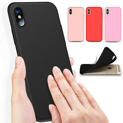 Genuine Silicone Soft Liquid Luxury Case Cover For Apple iPhone XS Max XR 6 /7/8