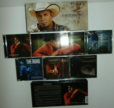 Garth Brooks The Ultimate Collection CD's 10 Disc Set 2016 Country Music * NICE