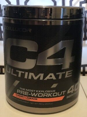 Cellucor C4 Ultimate Pre-Workout 40 Cherry Limeade