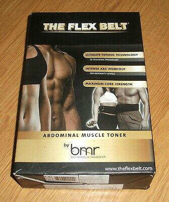 EUC ~The Flex Belt~ Full Set + 3 Extra Pad Sets + Dual Body Workout DVD~Unused?