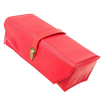 SINGER Featherweight 221 221k 222 222k Red Vinyl Accessories Attachments Case