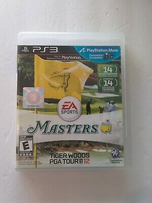 Playstation 3 Masters Tiger Woods PGA Tour 12 - Complete with Instructions