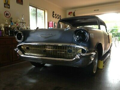 1957 Chevrolet Belair 2Dht - New Imported Rds Body From Usa  - Original Chassis